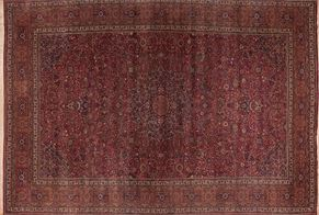 Meshad 46415<div>15 x 24 15-5 x 23-2 Red/Multi fine wool pile Hand-knotted in Iran rugs</div>