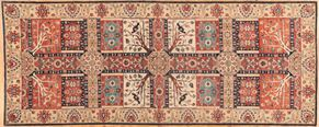 Tabriz 86552 Runner<div>5 x 12 5 x 12-8 Multi Color hand spun wool pile Hand-knotted in Pakistan rugs</div>