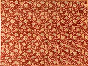 Tabriz 82355<div>12 x 15 11-4 x 15-9 Red hand spun wool pile Hand-knotted in Pakistan rugs</div>