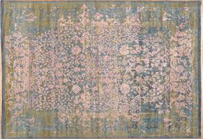 Contemporary 86980<div>10 x 14 9-10 x 14-4 Blue hand-spun wool pile Hand-knotted in Pakistan rugs</div>