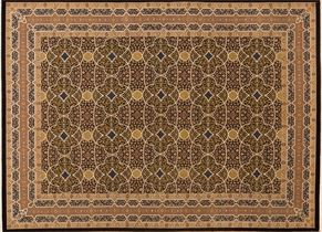 Tabriz 84728<div>9 x 12 9 x 12-5 Black fine wool pile Hand-knotted in Pakistan rugs</div>