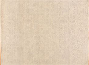 Tabriz 85641<div>9 x 12 9 x 12 Gray hand spun wool pile Hand-knotted in Pakistan rugs</div>