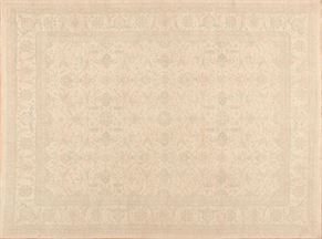 Tabriz 85466<div>9 x 12 9 x 12 Beige hand spun wool pile Hand-knotted in Pakistan rugs</div>