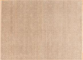 Contemporary 83098<div>9 x 12 9 x 12-1 Ivory hand spun wool pile Hand-knotted in India rugs</div>