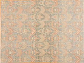 Tabriz 82553<div>9 x 12 8-9 x 11-7 Blue hand spun wool pile Hand-knotted in Pakistan rugs</div>