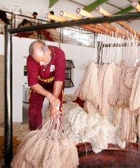 Wool Dyeing